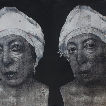 """Krystyna Piotrowska """"Portret z Krystyną"""""""