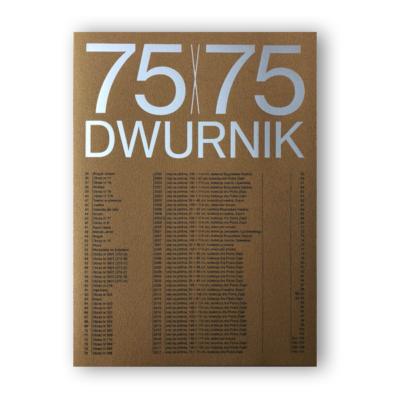 """Wyróżnienie dla katalogu<br> """"75×75 Dwurnik"""""""