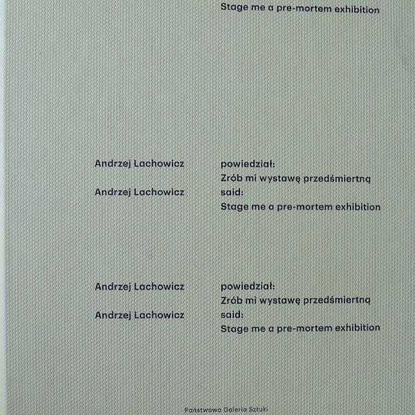 Andrzej Lachowicz