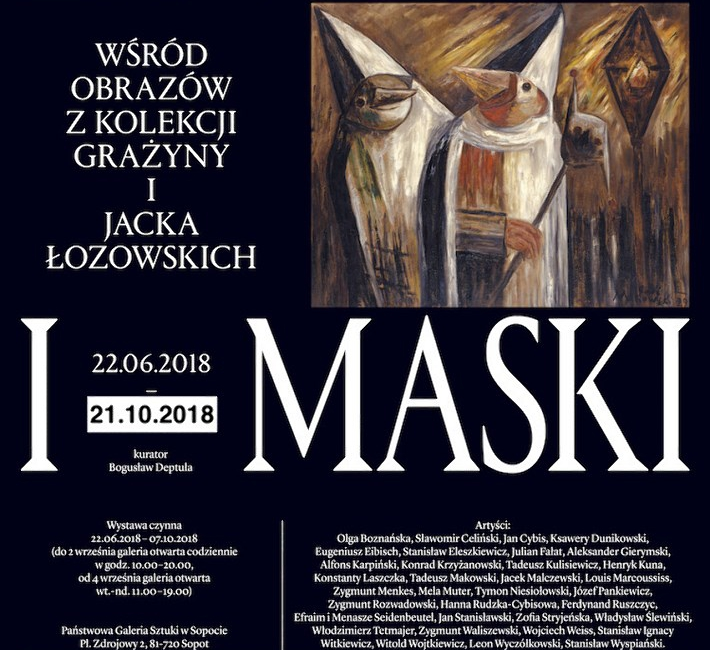 Żywioły i maski plakat