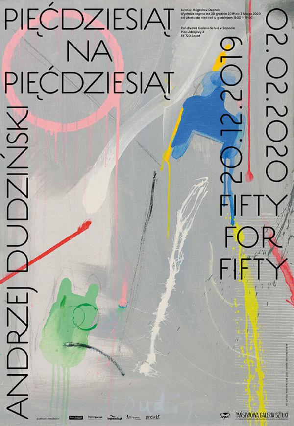 """Andrzej Dudziński """"Pięćdziesiąt na pięćdziesiąt"""""""