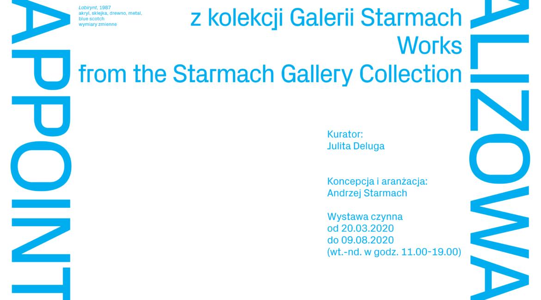 Urządzone. Zrealizowane. Prace z kolekcji Galerii Starmach. 2020 - plakat