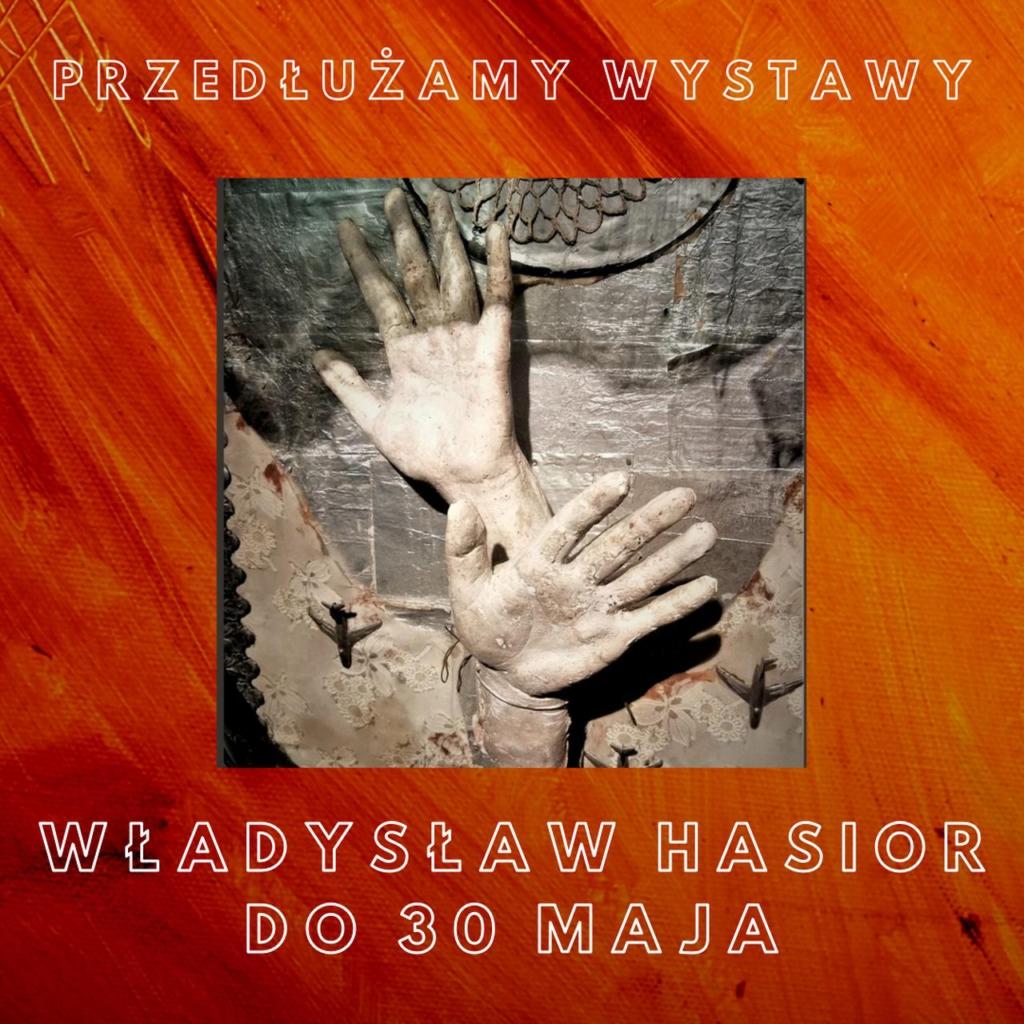 Przedłużamy wystawę Władysława Hasiora w PGS w Sopocie