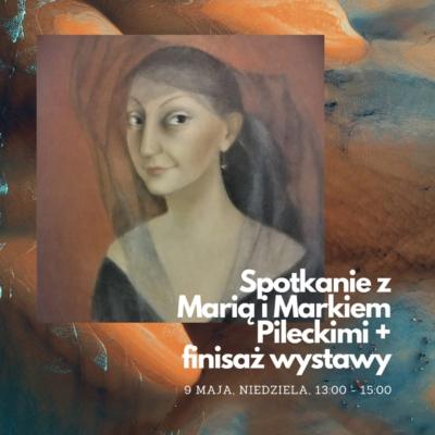 Spotkanie z Marią i Markiem Pileckimi na finisażu wystawy ich Kolekcji
