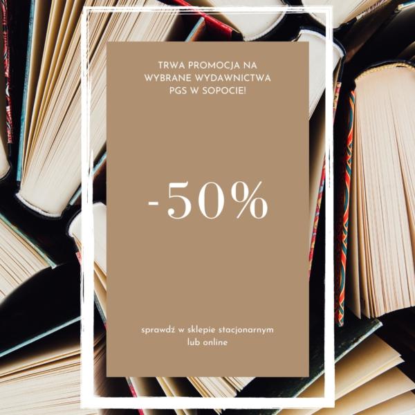 Trwa promocja -50% na wybrane wydawnictwa PGS