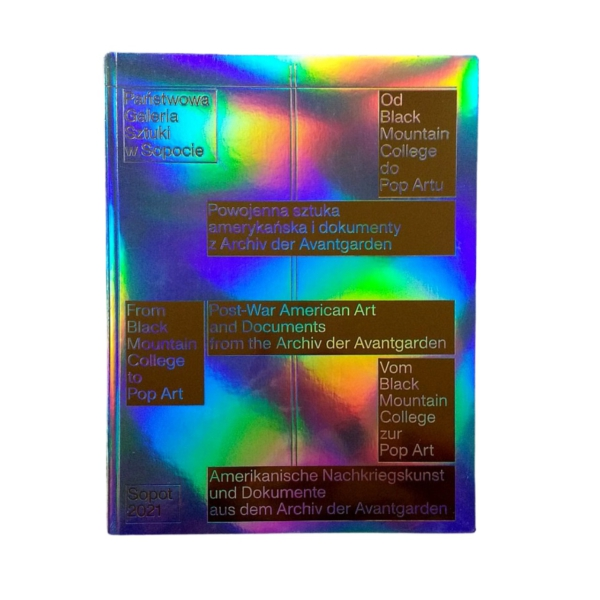 katalog wystawy Od Black Mountain College do Pop Artu.