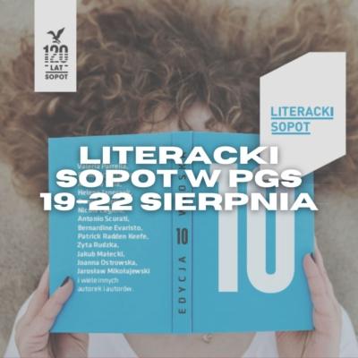 Festiwal Literacki Sopot w PGS